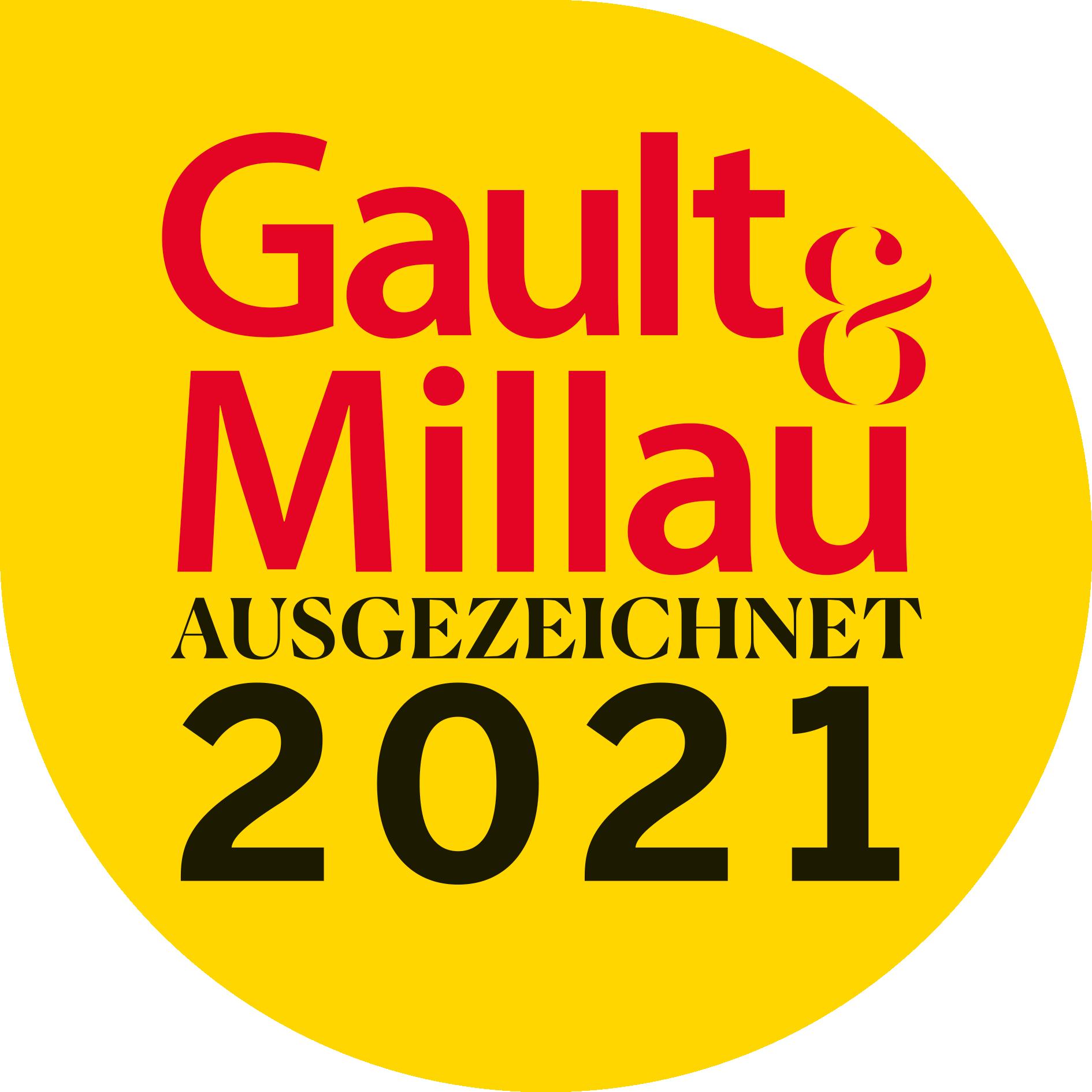 Gault & Millau AUSGEZEICHNET 2021